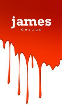 James Design poster