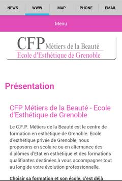 CFP Métiers de la Beauté apk screenshot