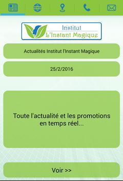 Institut l'Instant Magique poster