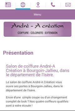 Salon André-A Création apk screenshot