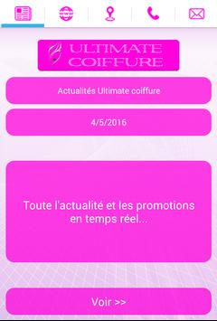 Ultimate coiffure poster