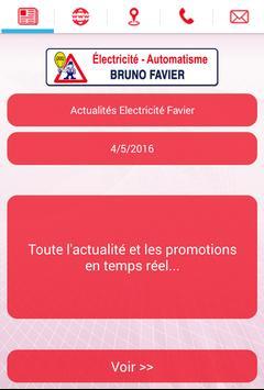 Electricité Favier poster