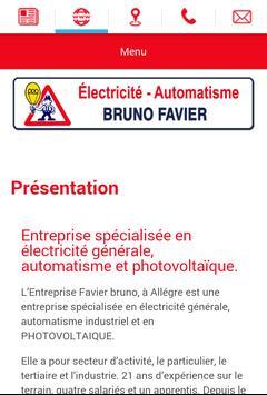 Electricité Favier apk screenshot