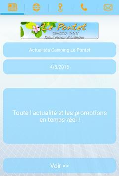 Camping Le Pontet poster