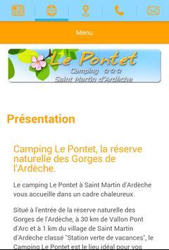 Camping Le Pontet apk screenshot