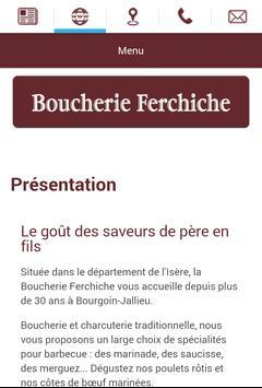 Boucherie Ferchiche apk screenshot