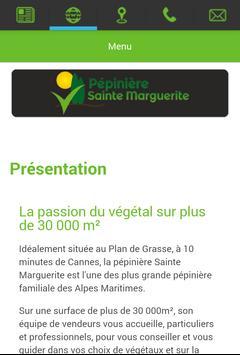 Pépinière Sainte Marguerite apk screenshot