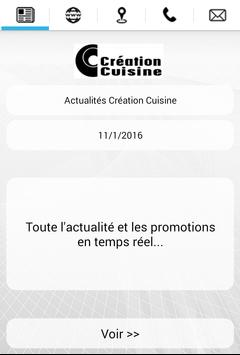 Création Cuisine poster