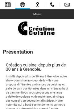 Création Cuisine apk screenshot