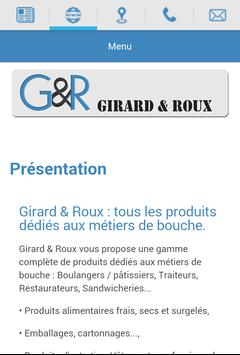 Girard & Roux apk screenshot