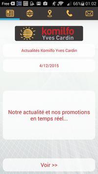 Komilfo Yves Cardin poster