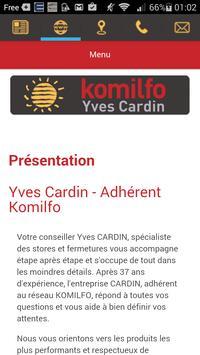 Komilfo Yves Cardin apk screenshot