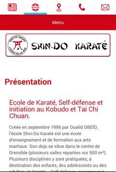 Ecole Shin-Do Karaté Grenoble apk screenshot