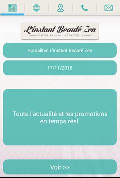 L'instant Beauté Zen poster