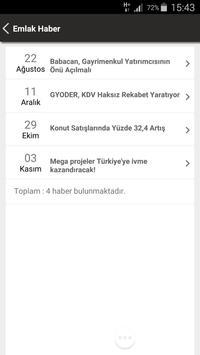 Etiket Emlak apk screenshot