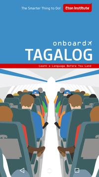 Onboard Tagalog Phrasebook poster