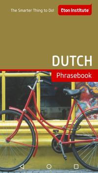 Dutch Phrasebook poster