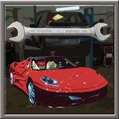 My car maintenance icon