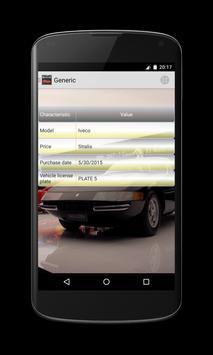 My car maintenance apk screenshot