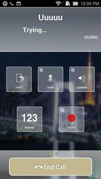 EUGROTEL SIP WORLD CALLS apk screenshot