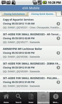 eVA Mobile 4 Business apk screenshot