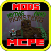 Myths and Monster Mod for MCPE icon