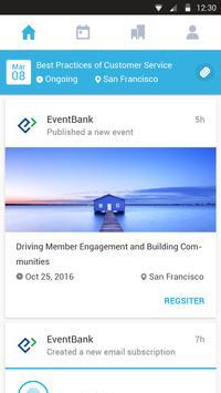 EventBank apk screenshot