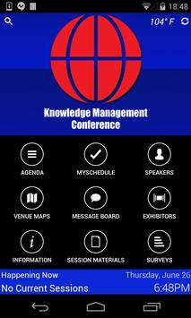 KM Conference poster