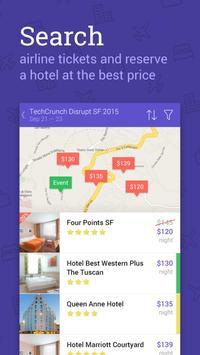 World Events Trip Planner apk screenshot