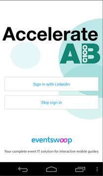 AccelerateAB Conference poster