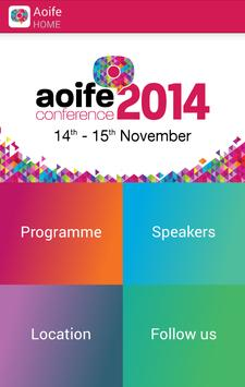 Aoife Conference 2014 poster