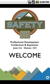 Safety 2012 poster