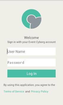 EventCyborg apk screenshot