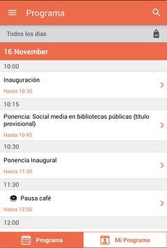 8Congreso Bibliotecas Públicas apk screenshot