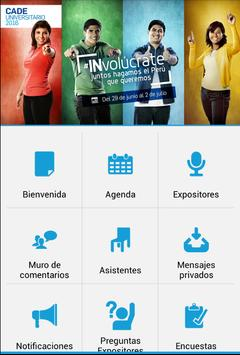 CADE Universitario 2016 apk screenshot
