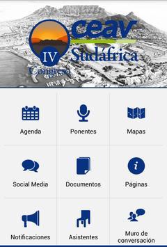 IV CONGRESO CEAV SUDAFRICA apk screenshot