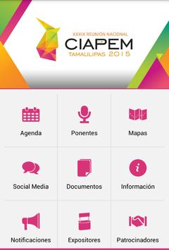 CIAPEM 2015 apk screenshot