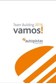 Team Building Autopistas 2016 poster