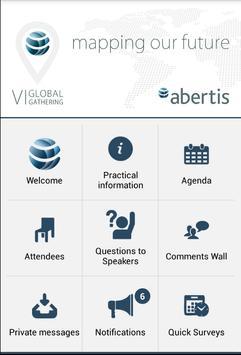 Abertis VI Global Gathering apk screenshot