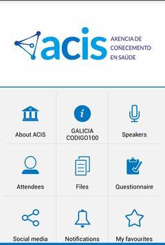 ACIS eventos apk screenshot