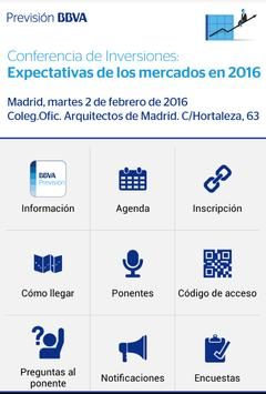Conferencia Inversiones 2016 apk screenshot