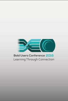 2016 BoldEurope Conference poster