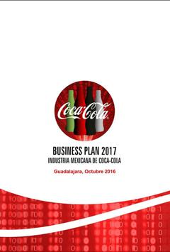 Business Plan Coca-Cola poster
