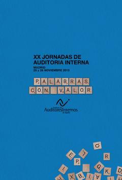 XX Jornadas Auditoría Interna poster