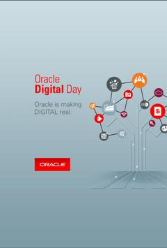 Oracle Digital Day poster