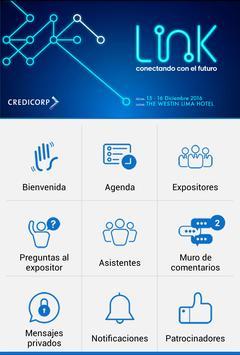 Reunión Link Credicorp 2016 apk screenshot