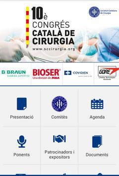 X Congrés Català Cirurgia apk screenshot