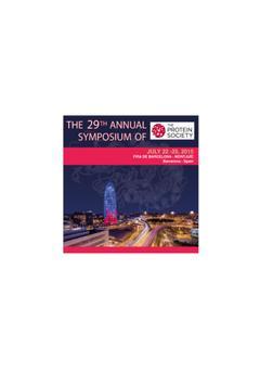 29th Symposium Protein Society poster