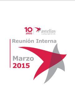 Reunión interna Astellas 2015 poster