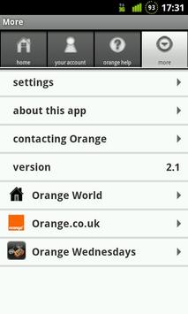 Your Orange apk screenshot